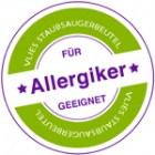 Höchste Filtration - Für Allergiker geeignet