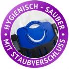 Micro Vlies Staubverschluss Badge