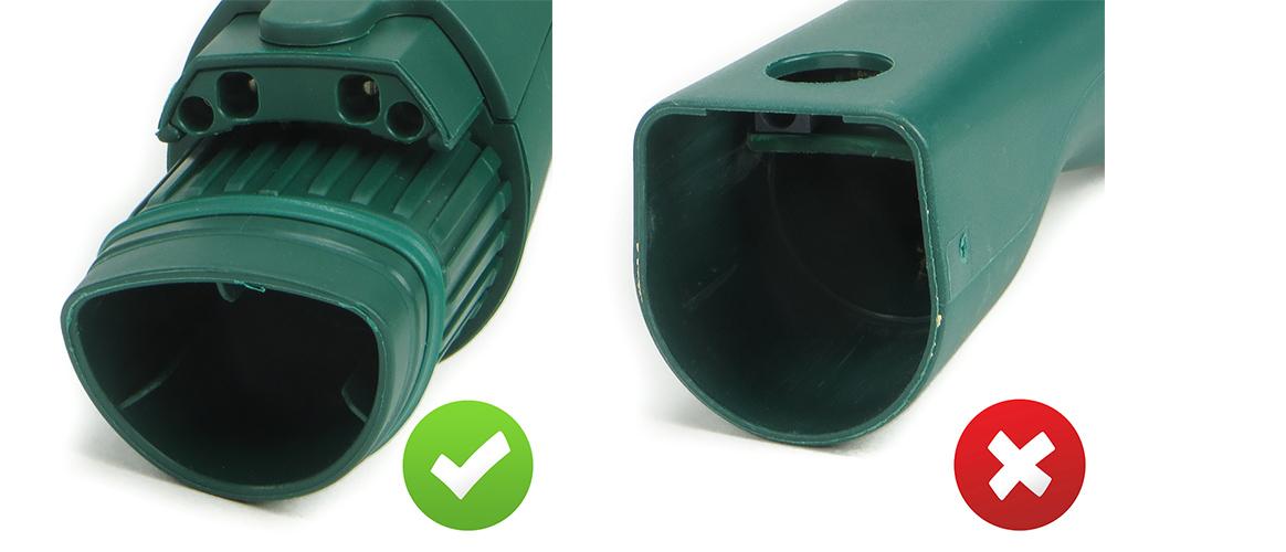 Vorwerk Anschlussübersicht - Geeignet für Vorwerk Ovalanschluss (neuer Anschluss)