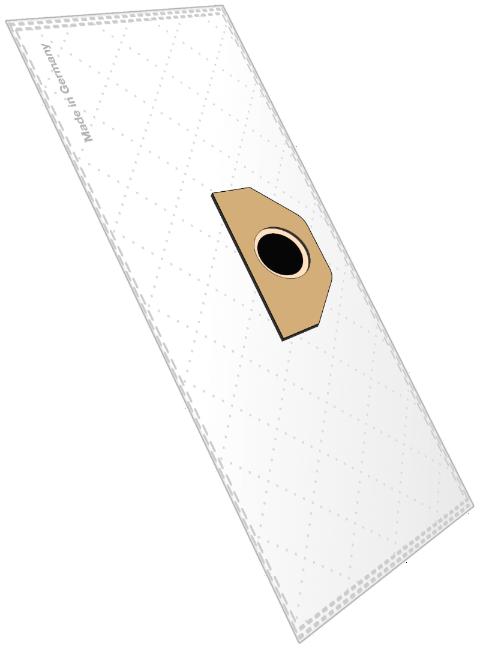 10 Staubsaugerbeutel K 202 Micro-Vlies für Kärcher A 2054, 6.959-130 u.v.a