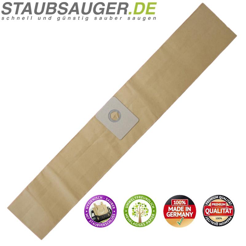 10 Staubsaugerbeutel K 201 für Kärcher T 201, ESB 24, 6.904-118 u.a