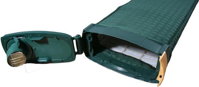 Filterkassette geeignet für Vorwerk Kobold VK 121 inkl. Staubbeutelhalter