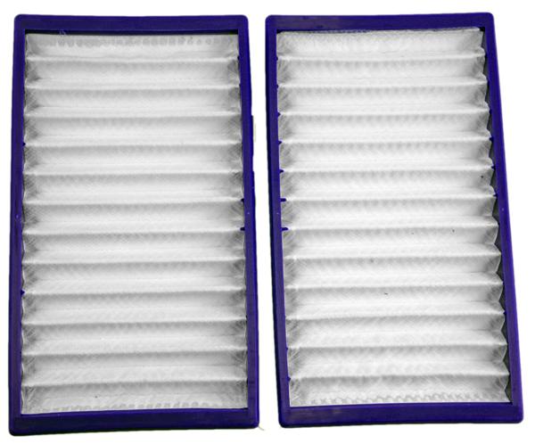 2 Filter geeignet für Dyson DC02 (Filterkassette, Lamellenfilter, Wabenfilter)