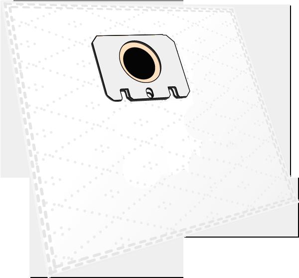10 Staubsaugerbeutel M 301 Micro-Vlies