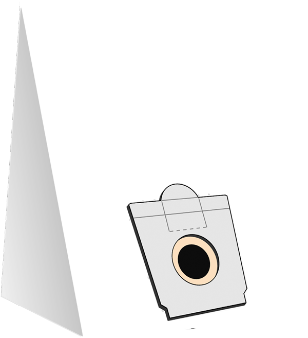 10 Staubsaugerbeutel S 4016