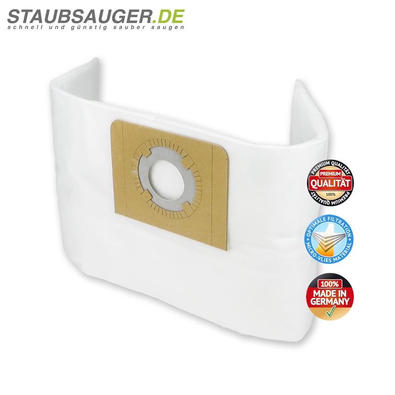 5 Staubsaugerbeutel Shop Vac Multi Pro, Power Vac, Ersatz für Swirl VAC120