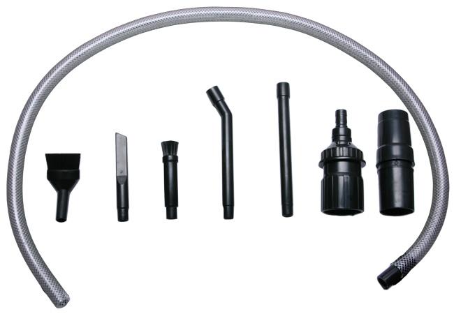 Mini Saug-Set - Praktisches Zubehörset für PC, Hi-Fi, Tastaturen, Hobby, Modellbau, Elektronik etc.