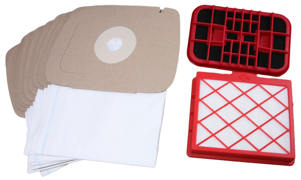 Sparset - Staubsaugerbeutel und Filter für Lux 1 Classic, Lux 1 Royal, D820 - D899 uva